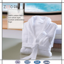 100% coton Velour tissu Super doux et confortable peignoir pour hôtel utilisé
