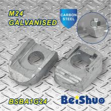 M24 Blind Bolt Connectors Steelwork Fixação Pipe Fitting Beam Clamp Ba1g24