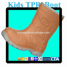 JX-916Y colorful TPR kids rain boots for children