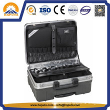 Waterproof ABS Tool Box with Pockets (HT-5105)