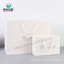 Offset Printng Custom Packaging Cosmetic Paper Gift Bag with Logo