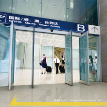 T12 Safety panic automatic doors for shopping malls emergency exits