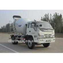 Precio de Fábrica Foton 3m3 camión hormigonera pequeño
