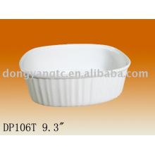 Atacado direto da fábrica 9.3 polegada padeiro de porcelana