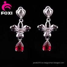 Fabricación al por mayor Fancy Gemstone Earrings