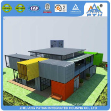 Stackable Fast install custom size house 3 bedroom prefab modular home