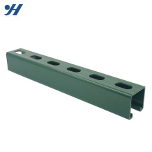 Wholesale Slotted Galvanized Stainless Steel unistrut c channel specification, channel steel