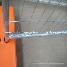 Construção temporária de barreiras de construção de cercas / metal