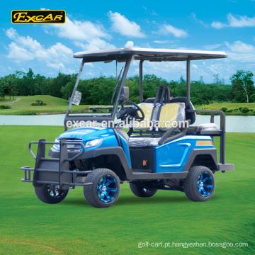 Excar Trojan bateria 4 seater golf car club carro carrinho de golfe carrinho de golfe elétrico