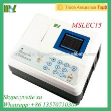 Machine EGC monocanal Analyse automatique de la machine ecg numérique (MSLEC15)