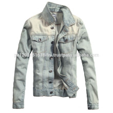 light blue mens jeans jacket