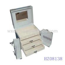 Парикмахерские квадратный алюминиевый корпус с 3-мя ящиками внутри Китая производителя