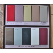 Metalic Color Glossy MDF UV Board Matériaux de construction (zhuv)