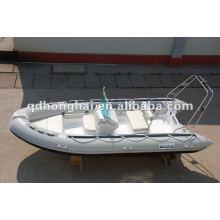 COSTELA barco CE velocidade barco barco de pesca de pvc
