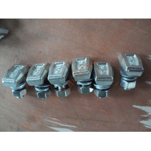 elevator guide rail fastening bolts , T forged rail clips