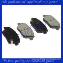 D1444 58101-3QA10 2564 high quality brake pad for kia optima