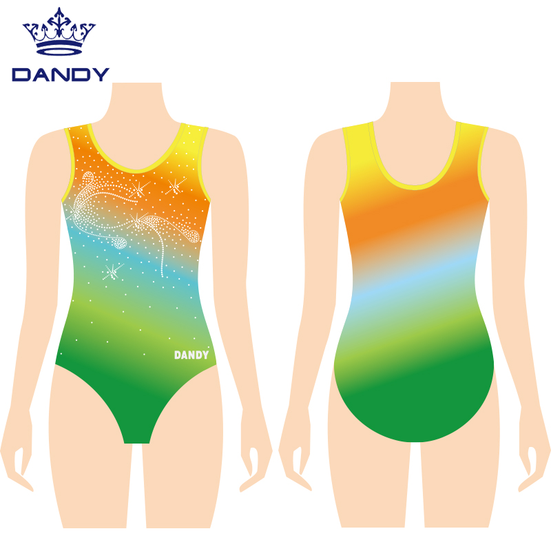 leotards and shorts for gymnastics