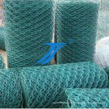 PVC-beschichtetes sechseckiges Maschendraht für Gabion