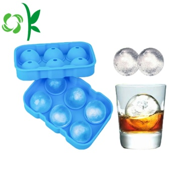 Silicone Sphere Ice Ball Cube khuôn mẫu