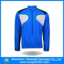 China fabricante Sportswear manga comprida ciclismo especializado Jersey