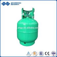 Produktionslinie Nahtloser Stahl 9KG LPG Gasflasche für Brenner