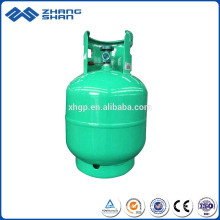 9KG Steel Liner Wrapped LPG Gas Cylinder Storage Tank with High Quality