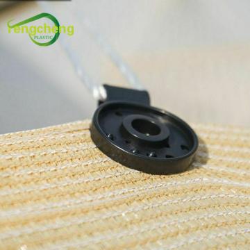 Shade cloth plastic clip round clips
