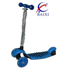 Vespa plegable del retroceso de los niños de 3 ruedas con diversos colores (BX-WS002)