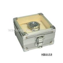 cajas de reloj de aluminio para reloj solo