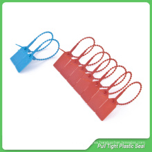 Correa plástico sellos, 230mm longitud, etiqueta de seguridad plástico, precintos de seguridad plásticos