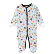 O serviço do OEM romper roupas de bebê personalizado de manga comprida recém-nascido macacão de bebê do inverno para o bebê