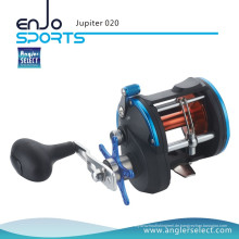 Angler Select Jupiter Sea Fishing Stark Graphit 3 + 1 Lager Trolling Reel Angelrolle (Jupiter 020)