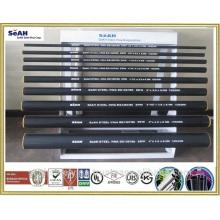 """Tubo de andamio de 48,3 mm (1 """"a 8"""") a JIS, KS ... o tubería de acero galvanizada en caliente, tubo GI"""