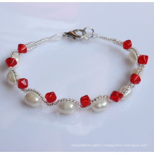 Cheap Fashion Freshwater Natural Pearl Bracelet (EB1512-1)