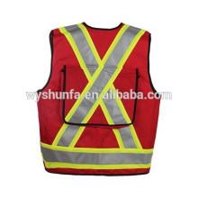 Vestes réfléchissantes à haute visibilité CSA Z96-09 norme 100% tricot en polyester