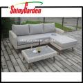 High Quality Rattan Wicker Alu. Sofa Set Furniture