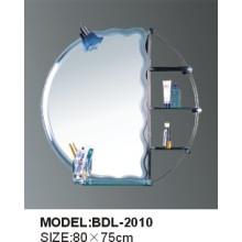 Espejo de baño de vidrio de 5 mm de espesor de plata (BDL-2010)
