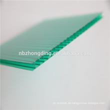 4mm doppelwandige Polycarbonat-Blattpreise