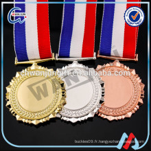 Médailles 2016 en alliage vierge M250