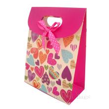 Saco de papel para compras Sacos de papel coloridos para presente