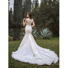 Latest bridal wedding gowns wedding dress fish tail bridal dress
