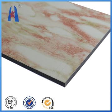 Material de painel composto de alumínio vermelho da Índia