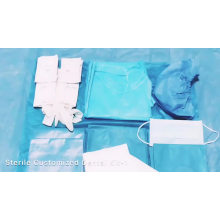 Disposable Dental Sterile Surgical Drape Pack Kits