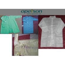 Vestido quirúrgico desechable con diferentes tipos
