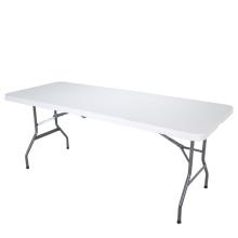 Design moderno preço baixo HDPE mesa dobrável de acampamento de plástico para atividade ao ar livre