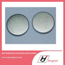 China fabricação de alta qualidade zinco bloco forma ímã de NdFeB