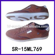 El último diseño de la manera calza a hombres del zapato corriente del zapato del vestido del hombre de los zapatos