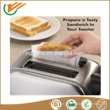2015 New Toasty Bags Fromage grillé dans votre grille-pain réutilisable 50 fois