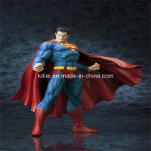 Polyresin Eco-Friendly Super Man Action Figure bebé plástico juguetes para niños