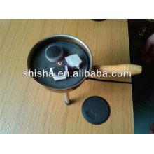 Electronic charcoal burner